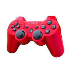 contoller sony ps3 red