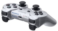contoller sony ps3 silver