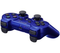 controller sony ps3 blue